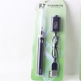 Wholesale Cheap Starters - e cigarette evod H2 Blister kit color evod battery color h2 atomzier vape pen starter kit e cig from best quality cheap price