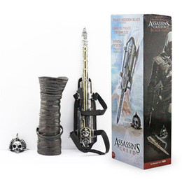 Wholesale NECA Assassins Creed Four Black Flag Pirate Hidden Blade Edward Kenway Cosplay New in Box