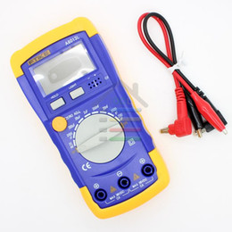 Wholesale Capacitor Meters - Wholesale-New Digital LCD Capacitance Capacitor LCR Meter Test Tester Multimeter 20mF - 200pF 20mF Free shipping