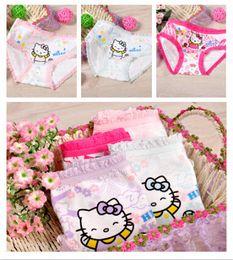 Wholesale Children Cute Underwear - 12pcs Lot Baby Girls Fashion Underwear Kids Cute Cartoon Panties Children Soft Cotton,wholesale and retail