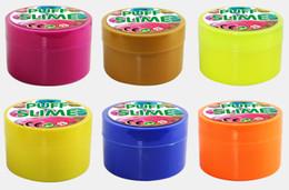Canada Vente chaude Coton boue slime PUFF SLIME pâte à modeler DIY piquer flaques décompression évent jouets Factory Outlet Offre