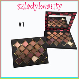 Wholesale Luminous Lipstick - Hot makeup Chris Chang eyeshadow 18 colors palette 2 types new top qaulity VS beauty lipstick 660219