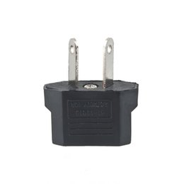 Wholesale Socket Outlet Converter - Universal Travel US or EU to AU AV Plug Adapter Converter USA to Euro Europe Wall Power Charge Outlet Sockets Brand New