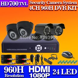Wholesale Dvr Channel 3g Wifi - Free Shipping.home cctv system 4 channel 960h dvr recording security 700tvl camera system dvr kit hdmi usb 3g wifi