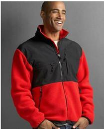 2019 moda chaqueta deportiva Marca al por mayor-moda para hombre Denali Fleece SoftShell Jacket Camping chaqueta a prueba de viento al aire libre montañismo deportes chaqueta caliente moda chaqueta deportiva baratos