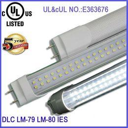 Wholesale 192 Led Cree - 100pcs LED Tube T8 4FT 28W 2800LM SMD 2835 G13 FA8 R17D 192 LEDS Light Lamp Bulb 4 feet 1.2m Double row 85-265V led lighting fluorescent