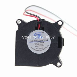 Wholesale Dc Brushless Blower - Wholesale- 5Pieces LOT Gdstime DC 24V 2Pin 40mm 40x20mm 4cm Brushless Cooling Blower Fan