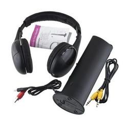 Wholesale Pc Wireless Gaming - 1PCS 5 in 1 DJ Gaming HiFi Wireless Headphone Earphone Headset FM Radio Monitor MP3 PC TV Mobile Phones Headphones