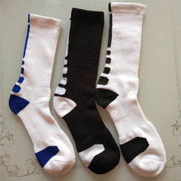 Wholesale Long Socks For Boys - USA Athletic Sports Basketball Mens Socks Knee High Fashion Casual Professionl Elite Compression Thermal Winter Long Socks for Men