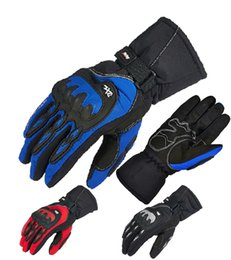 Wholesale Full Electric Cars - 2016 New PANGUSAXE warm winter motorbike gloves waterproof motorcycle gloves electric cars popular brands of gloves for men women 3 colors
