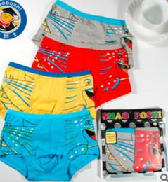 Wholesale Boys Boxer Briefs 12 - 2015 Fashion handsome children underwear Wholesale-Children's underwear made of pure cotton The boy cotton boxer shorts