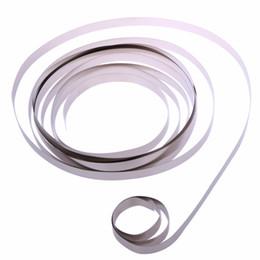 Сварка батарей онлайн-Дорожные наборы 3 м чистый Ni пластина никелевая лента для Li 18650 батареи точечной сварки открытый инструменты