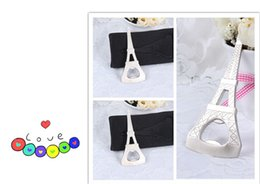 Wholesale Eiffel Tower Wedding Box - Creative novelty home party items The Eiffel Tower bottle opener gift box packaging