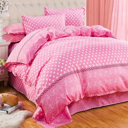 Wholesale Linen Bedding Set - Wholesale-bedding-set 4pcs family no cotton comforter bedding sets bed sheets duvet cover bedclothes linens colcha de cama bedspread
