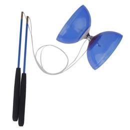 Diabolo Yoyo a 5 cuscinetti con manette String Juggling Giocattoli classici Gioco ad alta precisione Puntelli speciali Tipo di sonno morto Giocattoli per bambini da