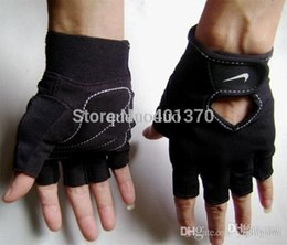 Wholesale Exercise Bicycles - free shipping authentic GX-0042 men riding a bicycle half finger mitts dumbbell exercise gym gloves