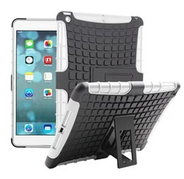 Wholesale Ipad Mini Spiderman Cases - Spider Hybrid Hard TPU PC Back case with stand holder for ipad 5 ipad air iPad 6 iPad air 2 iPad 2   3   4 iPad mini 1 2 3 Spiderman Case