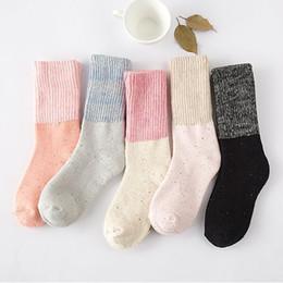 Wholesale Towel Ideas - 2015 free shipping socks for man women baby-- Winter New Japanese idea turned mouth thick sand solid terry towel socks warm socks socks sock