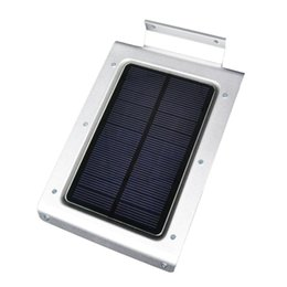 Wholesale Christmas Solar Lights Sale - 2015 sale 46LED Solar Power Motion Sensor Garden Security Lamp Outdoor Waterproof Ultra-thin Porch Lights For Home Garden Outdoor led lights
