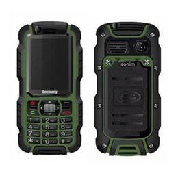 Wholesale Dual Sim Rugged - Original Discovery A12 2.4'' TFT GSM Dual Sim IP67 Waterproof Dustproof PTT Walkie Talkie TV Power Bank Bluetooth Rugged Mobile Phone .