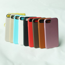 Wholesale Iphone Slim Leather Case - For iphone X Official case original untra thin slim cases For iphone 8 plus PU leather back cover for iphone 5 5s SE 6 6s 7 plus iphoneX new