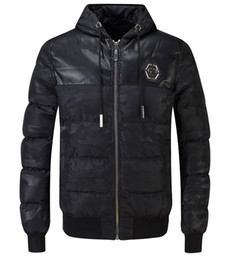 Wholesale Microfiber Jackets - Men's Winter Thicken Cotton Coat Puffer Jacket brand clothing stylish warm hooded jackets parkas for men top quality