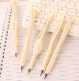 Wholesale Novelty Office Stationery - 200pc   New Novelty Ball-point Pen Shape Bone Student Stationery Gift Material Escolar Office Supplies