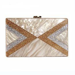 Wholesale Patchwork Wristlet - 2018 Women messenger bags new wallet elegant stylish sequins patchwork shoulder bag Lady GEometric fashion evening bag casual Vintage Clutch