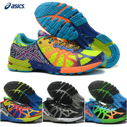 Wholesale Cheap Lightweight Running Shoes - 2015 Asics Cushion Gel-Noosa Tri 9 Sports Running Shoes For Men, Cheap Lightweight Racing Trainer Blue Green Pink etc Sneakers Without Box