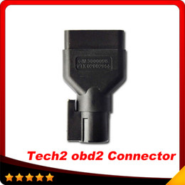Wholesale Tech2 Auto - 2015 for GM TECH2 OBD2 16 PIN OBD2 Adapter OBDII Auto Scanner Adaptor Free Shipping