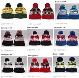 Wholesale Rain Gardens Design - 2015 New many designs Mix order Winter Team Beanies Beanie Knitting kitted beanie Outdoor Skiing Beanie Sport Baseball Beanies High Quality