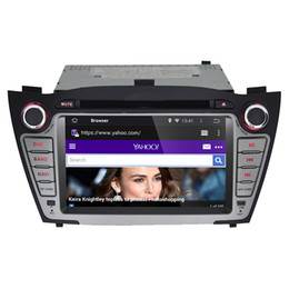 Wholesale Hyundai Tucson Gps Dvd - Quad Core+1024*600 Screen(optional)--Android 4.4.4 Car DVD GPS for Hyundai iX35 Tucson 2010 2011 2012 with Radio RDS WiFi 3G,
