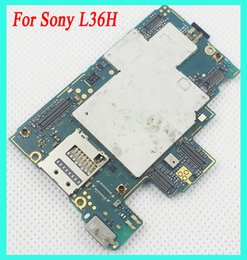 Wholesale Motherboard Testing - Good Tested for Sony Xperia Z L36H Motherboard Unlocked Mainboard With Chips Android OS Installed Logic Board Free shipping