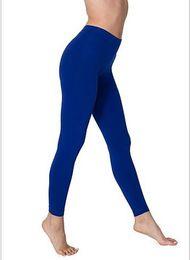 Wholesale Yogo Pants - High Waist Candy Colours Solid Leggings Women's Sports Pants Fashion Elastic Strtched Yogo Fitness Gym Leggings NEW arrive!!