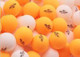 Wholesale Table Tennis Training Balls - Wholesale- Boer 1 star professional training table tennis Match the ball 60pcs bag