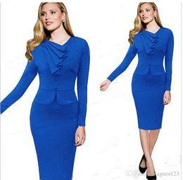 Wholesale Kate Middleton Neck - New Princess kate middleton dress Women Casual Dress OL Celebrity Elegant Slim Party2COLOR Dresses