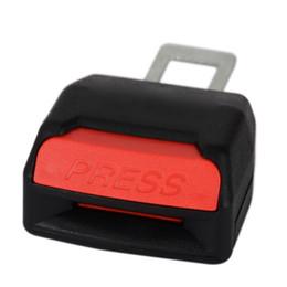 Boucle de ceinture universelle en Ligne-Universal Black Car Seat Belt Buckle Extension Extension de la ceinture de sécurité Safe Clip Réglable SeatBelt Clip voiture accessoires intérieurs