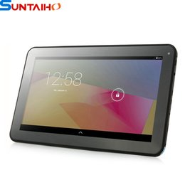 "Wholesale Tablet Free Shipping Quadcore - Free Shipping 10"" A33 QuadCore tablet pc, android 4.4.2 Quad Core tablet pcs with Bluetooth & WIFI,FM,Dual Camera(8GB 16GB)"