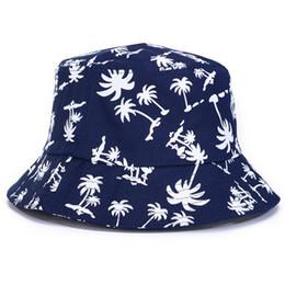 Wholesale male bucket hats - Wholesale-2015 Women Coconut Summer Bucket Hat Boonie Hunting Fishing Casual Male Female Outdoor Sun Cap