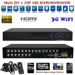 Wholesale Network Nvr System - 4ch 8ch 16 Channel AHD DVR Network 1080P 960H Motion Detection Audio Alarm NVR DVR CCTV Surveillance Security System Digital Video Recorder
