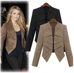 Ropa de damas gratis online-2Colors Plus size S-4XL Cardigan Mujer Ropa Chaqueta Mujer Casacos Jaquetas Femininas En Stock Nueva Moda Lady Coat Jackets Envío gratis