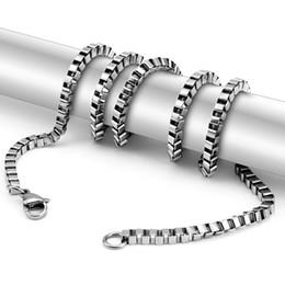 2019 chaîne de hachette Beichong Never Fade 316 chaîne en acier inoxydable collier 3mm 60cm quatre chaînes de couleur boîte meilleurs amis bijoux accessoires