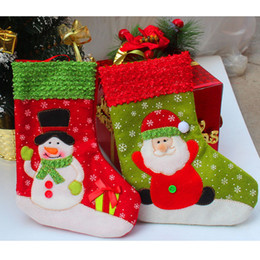 Wholesale Trumpet Santa Claus - Wholesale-2015 New Fashion Trumpet Christmas Gifts Snow Cartoon Warm Socks Lovely Snowflake Santa Claus Cute Meias Cotton Calcetines S981