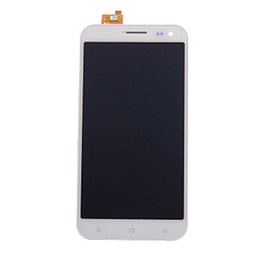 """Wholesale Cell Phone Glass Lcd Screens - Wholesale-In Stock! White Color LCD Display Digitizer Touch Screen Glass Assembly For ZOPO ZP 9520 ZP998 Cell Phone 5.5"""" LCD Free"""