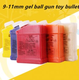 Wholesale Water Gun Wholesale - 20000PCS 9-11mm gel ball for electric water gun toy shoot bullet 7 color can choose