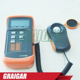 Wholesale Digital Light Meter Lcd - LX1330B Digital LCD Display Lux Meter Light Gauge Tester Illuminometer Tool