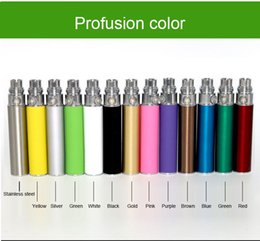 Wholesale Cig Lighters Freeship - General Battery Electronic Cigarettes Lighter Rechargeable Newest Capacity 650 mA Mods Battery E Cig Starter Kit Muti-colors