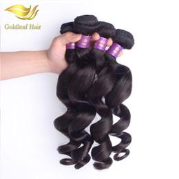 Wholesale Indian Remy Wavy Hair Weave - Peruvian Virgin Loose Wave 3pcs Virgin Brazilian Hair 100% Human Hair Weaving Malaysian Loose Wave Wavy Indian Loose Wave Hair