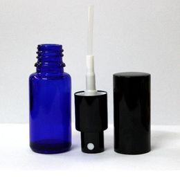 360pcs / lot 20ml vide atomiseur de parfum rechargeable bouteille d'huile essentielle, vaporisateur de parfum vaporisateurs, vaporisateur en verre bleu ? partir de fabricateur