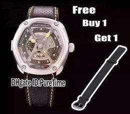Wholesale Small Seconds Watch - Best Version Dietrich 1969 Organic Time OT-3 Small Second 24 H Counter Yellow Miyota 82S7 Automatic Mens Watch Leather Free Nylon Strap